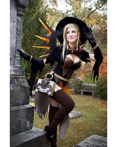 So eager to making this one🤜🤜🏃‍♀️🏃‍♂️🏃‍♀️✂️‼️⏩⏩ @tinakinzcosplay as Witch Mercy #cosplay #overwatch #overwatchcosplay #witchmercy #halloweenmercy