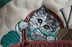 Small bag embroidery