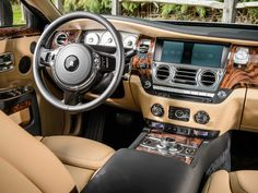 But underneath the classic veneer are state-of-the-art driving tools. The steering wheel is light yet precise. The Ghost also has stability control and adaptive cruise control, plus ...