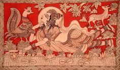 Kalamkari Design Decor & Disha: Indian Art: Kalamkari (South Indian Art)