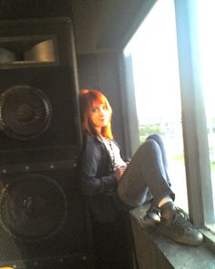 pic of hayley williams i took when paramore played the club where i used to work. photo taken by heatherlee willis