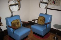 Vintage Beauty Salon Chairs