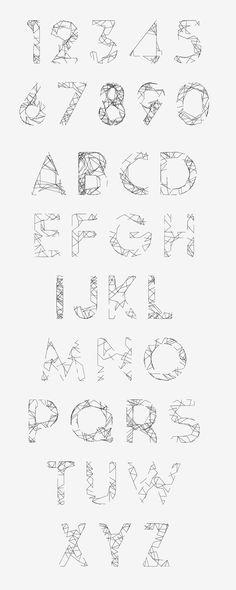 Kocoon-Light Randomic Free Font by Give Design, via Behance