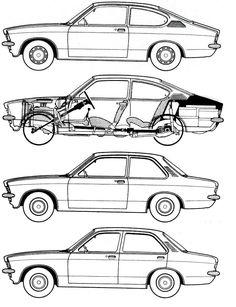 O modelo da Audi de 1980. Audi Quattro o primeiro modelo