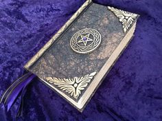 Collectable Book of shadows/blank spell book/journal /Diary /Cert # 194