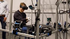 "Following the recent unfavorable court decision which saw a $500 million judgement levied on Oculus and some of its founders last week, Facebook has shared a glimpse into what they call ""the most advanced virtual and augmented reality research center and team in the world."" Today Facebook CEO Mark Zuckerberg posted photos of himself touring the Oculus …"