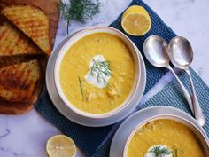 Thermomix recipe: Creamy Chicken Soup with Fresh Dill and… | Tenina