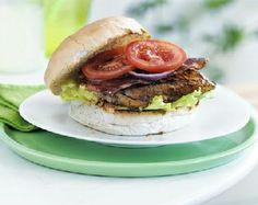 Low FODMAP Healthy Recipe: BBQ Chicken Burgers