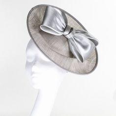 Failsworth Hats Sia Occasion Fascinator - Silver