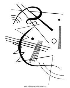 Wassily Kandinsky, Abstract Words, Abstract Art, Abstract Landscape, Bts Design Graphique, Constructivism, Art Plastique, Small Tattoo, Line Art