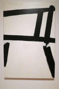 "Franz Kline ""White Forms"" 1955 Franz Kline, Willem De Kooning, Museum Of Modern Art, Abstract Expressionism, Monochrome, Sculptures, Black And White, Artwork, Objects"