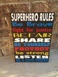 Check out our superhero signs selection for the very best in unique or custom, handmade pieces from our banners & signs shops.