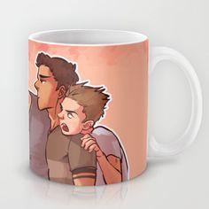Scott McCall Defense Squad Mug by krakenface.