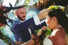 Photo gallery: Cosmic and Mayan Wedding celebrated at Tulum Mexico.