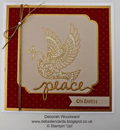 Debs Den Cards: Dove of Peace, Take 2