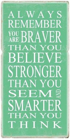"""""""stronger than you believe"""" hits home"""