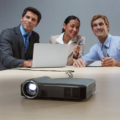 Small on the go projector. Backpack size with huge capabilities even projecting TV yeah