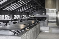 Flamingo Shanghai - The Attic / Neri&Hu