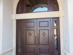 wp_112 Wooden Double Doors, Delray Beach, Wood Doors, Solid Wood, Garage Doors, Outdoor Decor, Furniture, Home Decor, Arquitetura