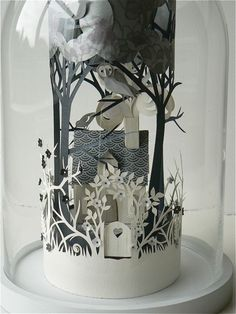 Papercut landscape -Soo Beautiful