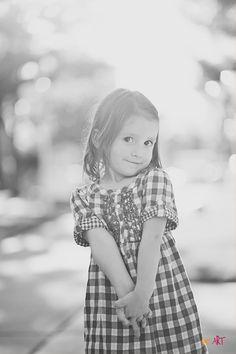 Adorable Girl Pose