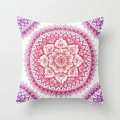 Boho Pillows - Boho Bedding - Mandala Bedding - Bedding - Accent Pillows