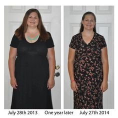 """30 Days of Hope: Day 2 Audra's story """"Last year on my birthday, I was at my heaviest weight. I was very miserable and unhealthy. I am happy to report I have lost 65 lbs. I am a lot more healthy now, eating better most days, exercising most days, I am wearing a smaller size and am generally more happy. I couldn't have gotten this far without my wonderful husband for support and my health coach The dress in the last picture was one I wore in high school and have had in my closet for 12…"""