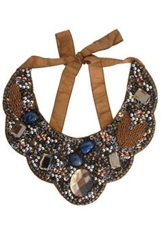Palermo's bib necklace for Roberta Freymann