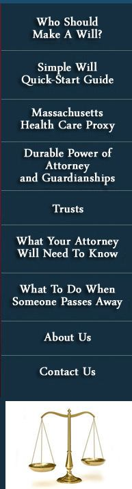 Often times, the most important and meaningful things in life can be difficult to discuss, such as making a will, or handling the financial and legal affairs of a loved one, friend, or family member who has passed away. Our attorneys are committed to effectively helping you through these situations, which may include making a simple will, trust, health care proxy, durable power of attorney, or a more complex estate plan to serve your objectives.