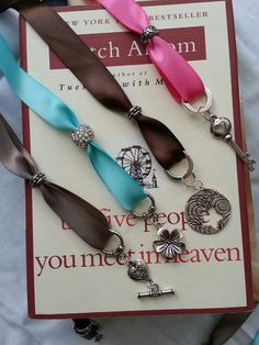 Project complete! Charming Ribbon Bookmark - Pier 1 Knockoff