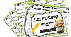 Voici 27 cartes à tâches sur la comparaison de longueurs pour les élèves de 2e et 3e cycle du primaire! Le tableau de conversion des mesures et le corrigé sont inclus! Cliquez sur les liens pour découvrir mes autres produits reliés : - Bundle sur la mesure - Économisez plus de 25% ! Measurement Kindergarten, Math Measurement, Math 2, Fun Math, Preschool Learning, Teaching Math, Math Blocks, Cycle 3, Learn French