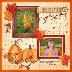 Ideas for Scrapbookers: Designer Showcase: Pumpkin Projects!