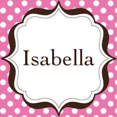 My Name Isabella On Pinterest Aries And Sagittarius My