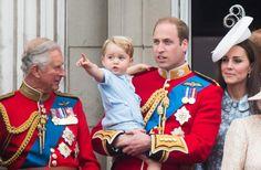 Anniversaire du Prince George : Le petit garçon a ADORÉ voir les avions, les défilés militaires...