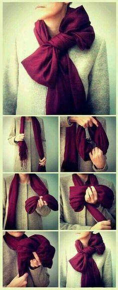 Fiocco al foulard