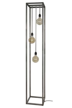 Rimini vloerlamp zwart staal Antique Lamps, Light Project, Wind Chimes, Lights, Antiques, Outdoor Decor, House, Home Decor, Project Ideas