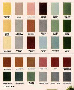 Exterior colors for 1960 houses — Retro Renovation