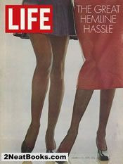 Hemlines in fashion life magazine cover: 13 Mar 1970