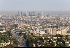 Los Angeles (Hollywood in foreground)