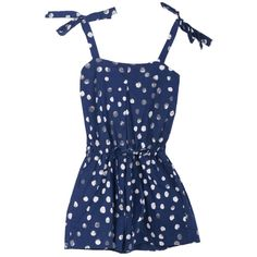 Dotty Sundress by rittenhouse #Sundres #Girls #rittenhouse