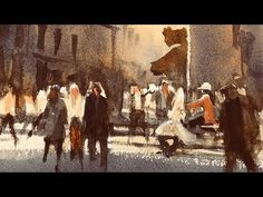 """Advancing with Watercolor: Introducing Figures """"The Florentines"""" - YouTube"""