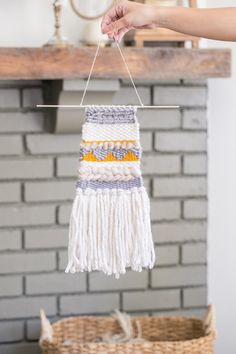 Loom weaving is on my to do-list. Here's great tutorial. Sugarandcharm.com