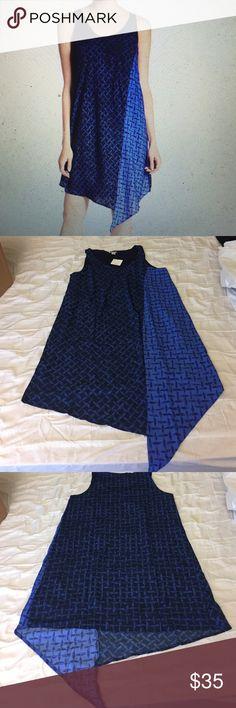 Halogen Asymmetric Hem dress New with tags Halogen Dresses Asymmetrical