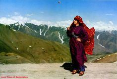 Afghan Dress of Badakhshan