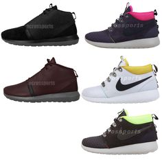 new style 78538 504e4 Nike Rosherun Roshe Run NM   Sneakerboot NSW Mens Casual Boots Shoes Pick 1  http