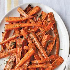 This recipe was inspired by a dish at Nightwood restaurant in Chicago. Roasting carrots brings out their natural sweetness. | Health.com