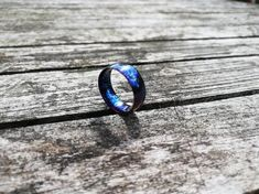 Damascus Ring, Damascus Steel, Vintage Seiko Watches, Ring Shapes, My Engagement Ring, Titanium Rings, Marble Pattern, Present Gift, Rings For Men