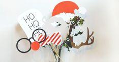 Un photomaton pour immortaliser Noël, un DIY à réaliser avec vos enfants !  http://www.homelisty.com/17-idees-deco-simples-et-fun-a-faire-avec-vos-enfants-pour-noel/