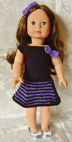 Ravelry: Jacknitss' AMERICAN GIRL DOLL CANDY STRIPE & PARTY DELIGHT SETS