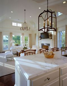 Open concept - Pohlig, home builders